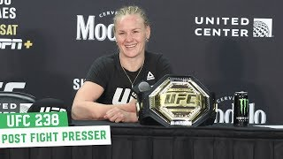 UFC 238 Post Fight Press Conference: Valentina Shevchenko