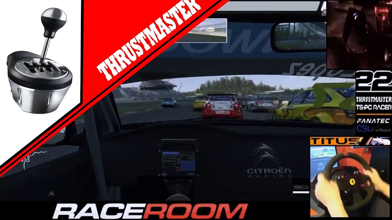 Raceroom thrustmaster TH8A