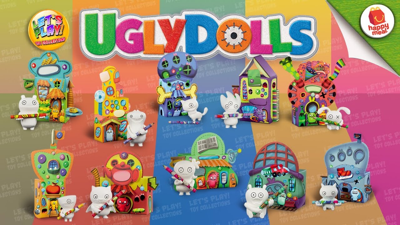 2019 Uglydolls Mcdonald S Happy Meal Complete Set Of 10