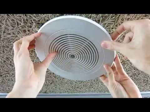Sistemas de megafonía con transformador - Altavoz de techo