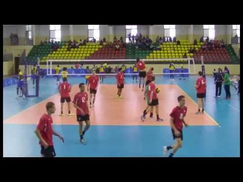 Rwanda vs Algerıa in all Afrıcan Games volleyball Congo  Brazzavılle 2015