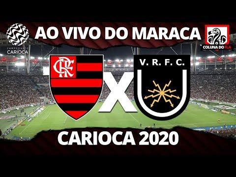 FLAMENGO X VOLTA REDONDA AO VIVO DO MARACANÃ - CARIOCA 2020 - NARRAÇÃO RUBRO-NEGRA