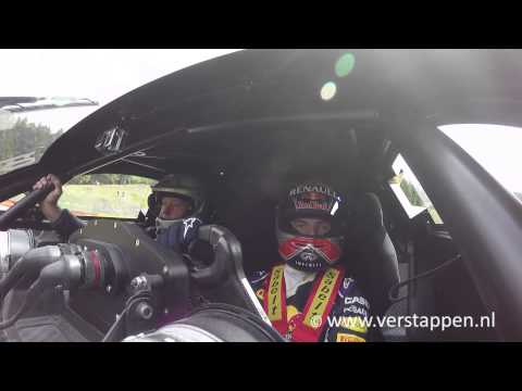 Max Verstappen takes Jos around Spa-Francorchamps in the Renault R.S. 01, 30/05/2015