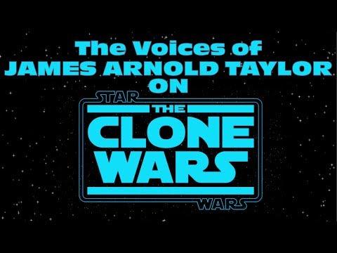 James Arnold Taylor  Clone Wars Voices Demo