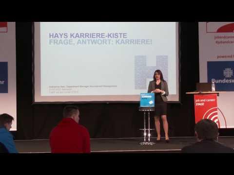Hays – KARRIERE-KISTE | Frage, Antwort: Karriere | Live auf der CeBIT 2017