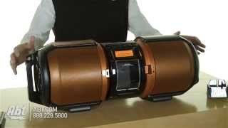 Sharp Portable Boombox GXM10 Overview