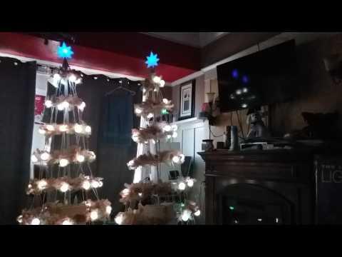 Gemmy light show trees (3 songs)