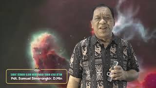 Sabat Sebagai Ujian Menyembah Tuhan Atau Setan - Pdt. Samuel Simorangkir