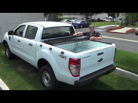 Folding Truck Bed Covers >> BakFlip Tonneau Cover Ford Ranger Global T6 - YouTube