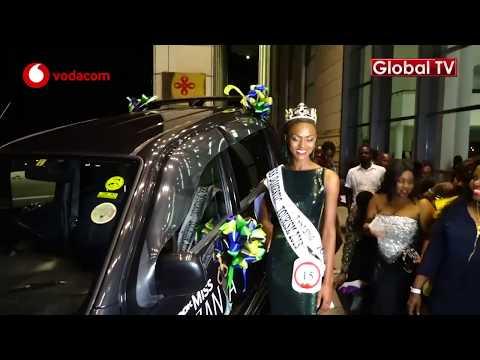 Mshindi Miss Tanzania Alivyokabidhiwa Gari Lake!