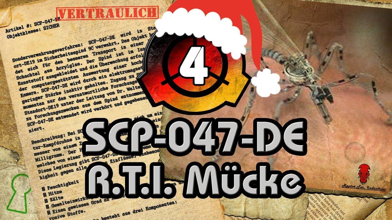 SCP-047-DE: R.T.I. Mücke - YouTube