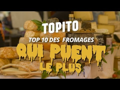top 10 des fromages qui puent le plus selon un robot topitotv youtube. Black Bedroom Furniture Sets. Home Design Ideas