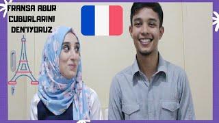 FRANSA'NIN İLGİNÇ ABUR CUBURLARINI BİZİMLE DENEYİN. biraz sohbet biraz yemeeek 🍰🍬🍢🍣🍿