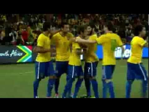 South Africa 0 - 5 Brazil Friendly Match Large Highlights & Goals 05 03 2014