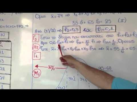 Απάντηση στο Γ' θέμα Μαθηματικών Γενικής Παιδείας 2013