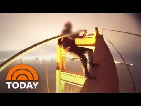 Dangerous Selfie Trend: Teens Dangle From Top Of Golden Gate Bridge   TODAY