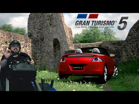 Японский тазик-концепткар мощностью в 61 лошадку на треке, шта?! Gran Turismo 5 - One Love 😂