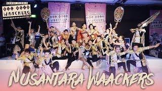 Nusantara Waackers (INA)   Showcase   AAWF 2018 Grand Finals Bali, Indonesia by Etoile Dance - Stafaband