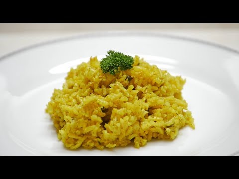 How To Prepare Integral Rice With Turmeric And Parsley- CocinaTv By Juan Gonzalo Angel