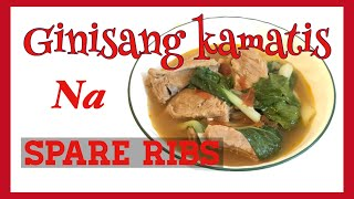 How to cook Ginisang Kamatis na Spare Ribs