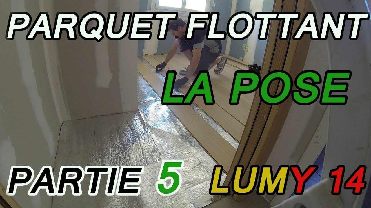tuto comment poser un parquet flottant sur une chape liquide ciment partie 5 youtube. Black Bedroom Furniture Sets. Home Design Ideas