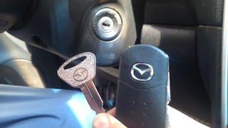 تشغيل السيارة بمفتاح ابو 5 ريال(بدون برمجة المفتاح) في 5 ثواني ( حركة مفيدة للكل )