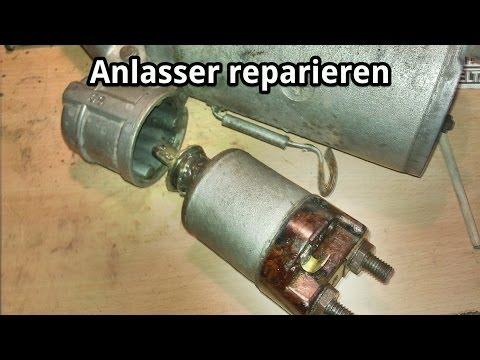 Beliebt Bevorzugt Anlasser reparieren - Magnetschalter-Kontakt aufarbeiten am #VJ_46