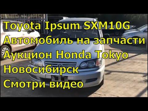 Toyota Ipsum SXM10G 351. Контрактный двигатель. Авто с аукциона Японии. Авторазбор в Новосибирске.