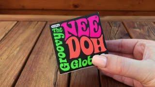 NeeDoh Groovy Glob Fidget Toy ASMR #shorts