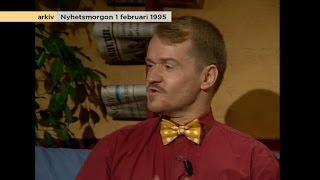 Så rätt hade Alexander Bard om internet - redan för 20 år sedan - Nyhetsmorgon (TV4)