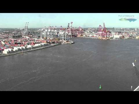 Port of Melbourne - Day in the Life Timelapse - by CaptivEYE