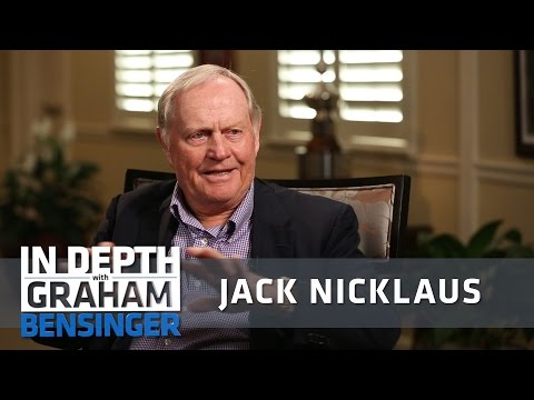 "Jack Nicklaus: ""Golfers are selfish"""