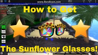 Roblox Summer Event l How to get the Sunflower Glasses! 🌻