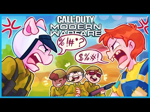 ANGRY HILLBILLY RAGES at me in Call of Duty: Modern Warfare!