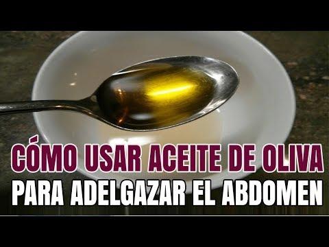 Cómo Usar Aceite De Oliva Para Adelgazar el Abdomen.  ¡En 15 Días Verás los Resultados!