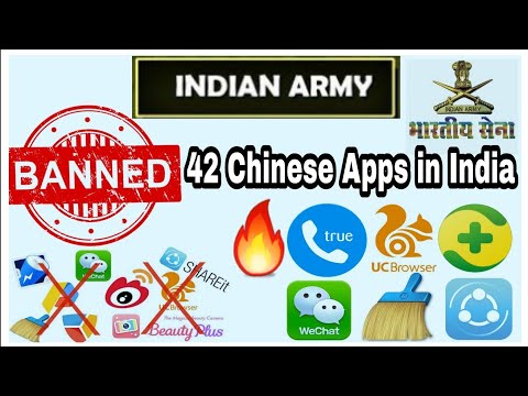 Indian Army Banned these 42 Chinese apps in India|🔥 2018
