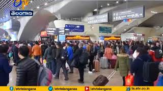 Millions of Chinese leave for New Year Holidays | Heavy Rush at Transport Areas | China