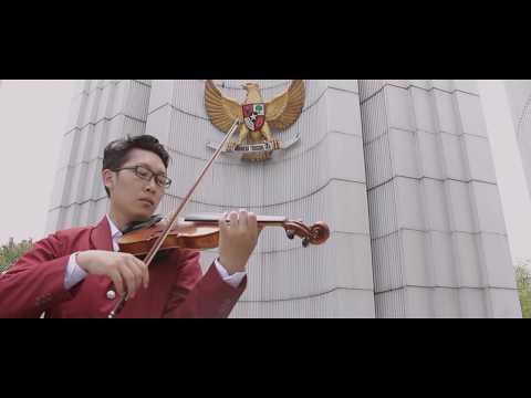 Bagimu Negeri - Violin Cover by Rifqi Aziz  (#MUSIKUNTUKINDONESIA by TELKOM INDONESIA)