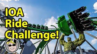 [Ride Challenge] Every Ride in Islands of Adventure at Universal Studios Orlando