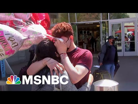 Migrant Teen Reunites With Mother More Than Three Years After Separation Under Trump | Rachel Maddow