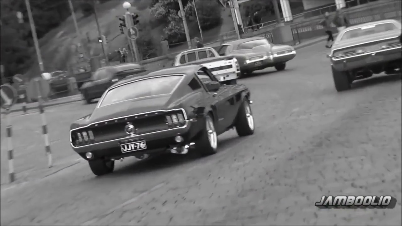 Old School Muscle Cars - YouTube