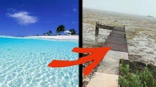 【衝撃】ハリケーンによって海水が消滅!?