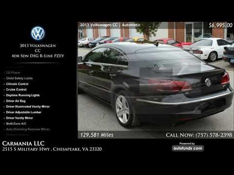 Used 2013 Volkswagen CC | Carmania LLC, Chesapeake, VA