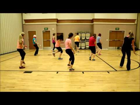 Moms Zumba Dance Exercise (Turn Down For What)