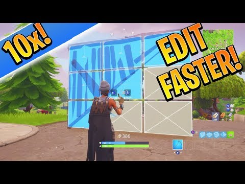 PRO Tips to Edit 10x FASTER on Console Fortnite! (How to Edit Fast in Fortnite)