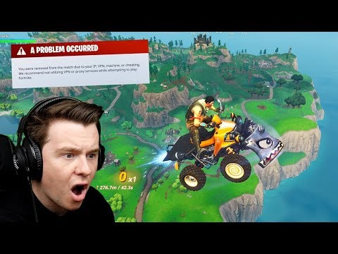 THIS is why im BANNED From Tournaments In Fortnite...