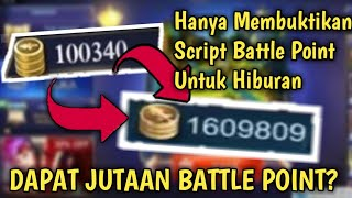 CARA MENDAPATKAN JUTAAN BATTLE POINT - Mobile Legends