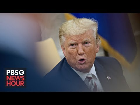 Trump defends China trade policy amid economic worries