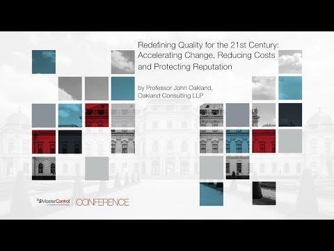 John Oakland 2017 Masters Conference Keynote
