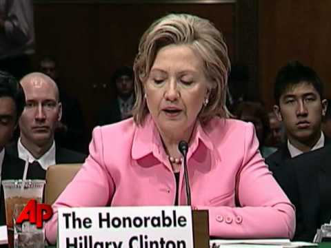 Clinton: U.S. and Russia Agree on Iran Sanctions